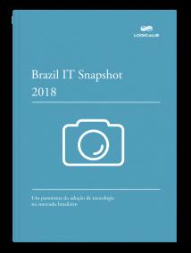 Capa do e-book IT Snapshot 2018