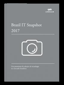 Capa do e-book IT Snapshot 2017