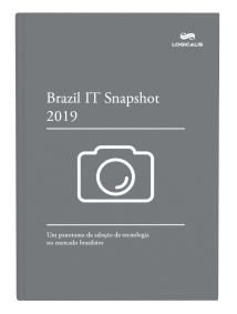 Capa do e-book IT Snapshot 2019