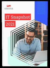 Capa do e-book IT Snapshot 2021